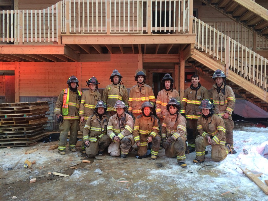 East Missoula Rural Fire group photo - February 2016.